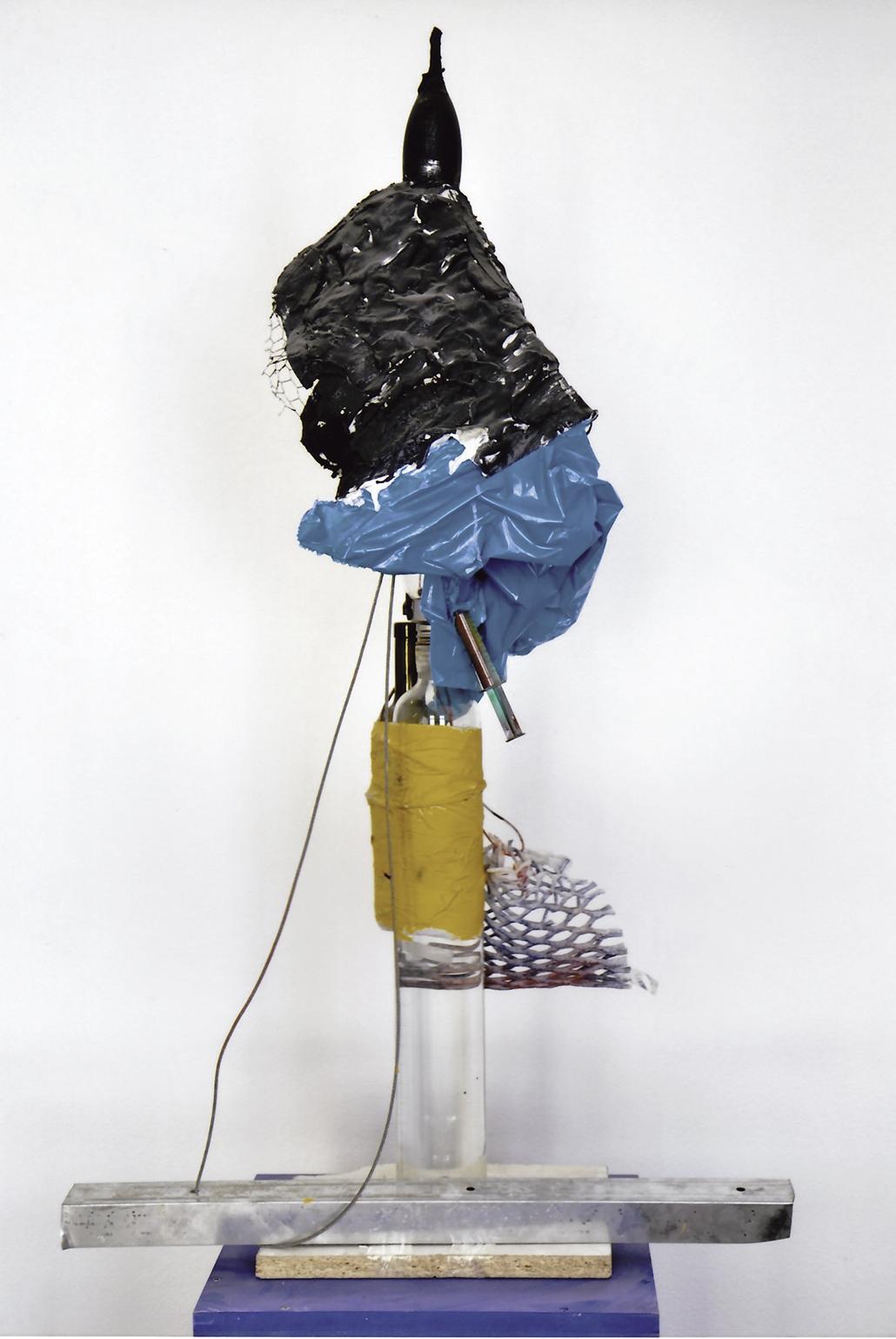 Begi Guggenheim // Komposition in Gelb, Blau und Schwarz