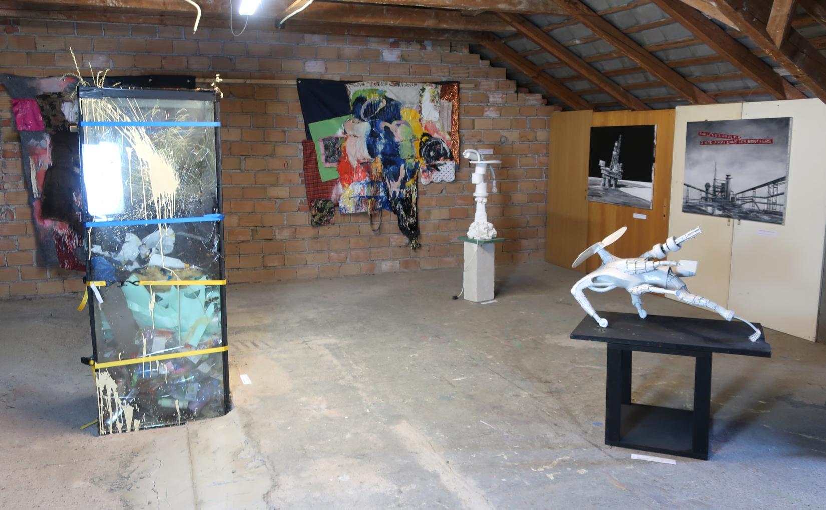 Hadrien de Corneillan, Alan Neider, Begi Guggenheim // exhibition view