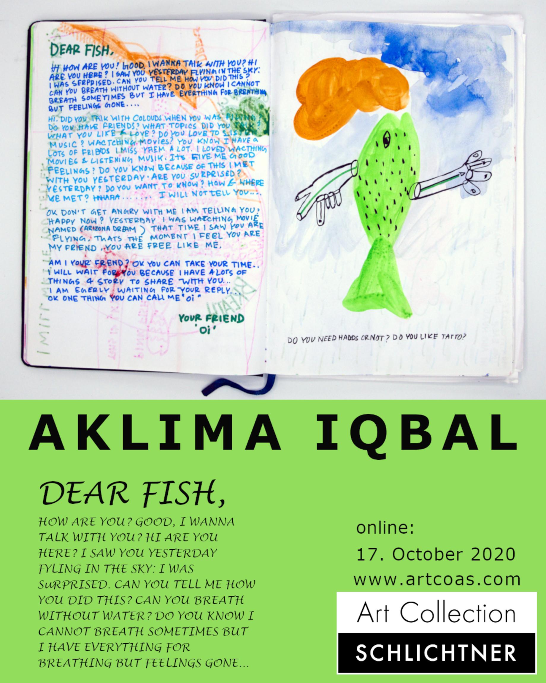 "Aklima Iqbal - ""Dear Fish"""