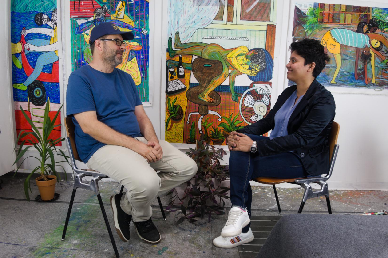 Aklima Iqbal and Art Collection Schlichtner - Interview, 03.10.2020