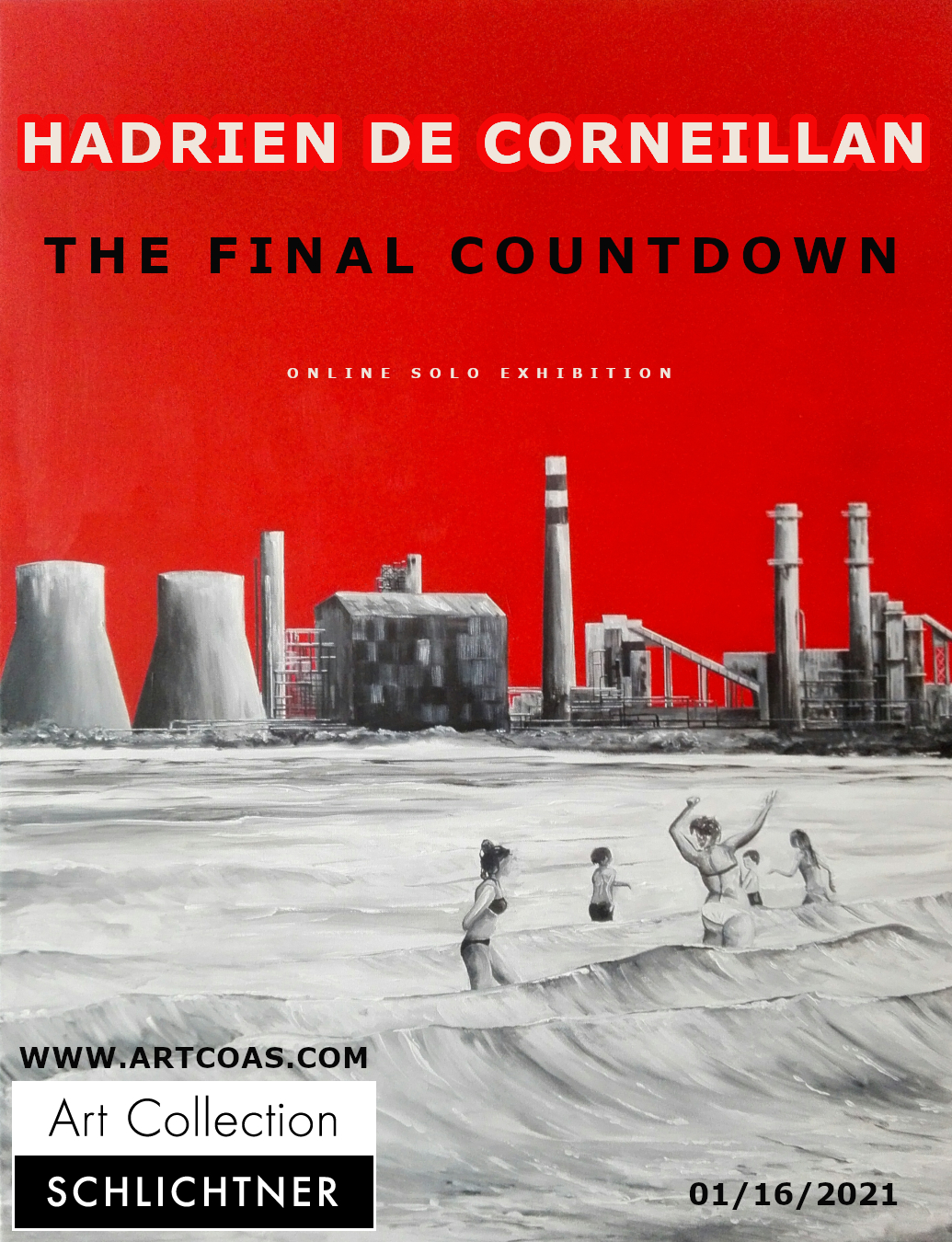 Hadrien de Corneillan - The final countdown - online solo exhibition