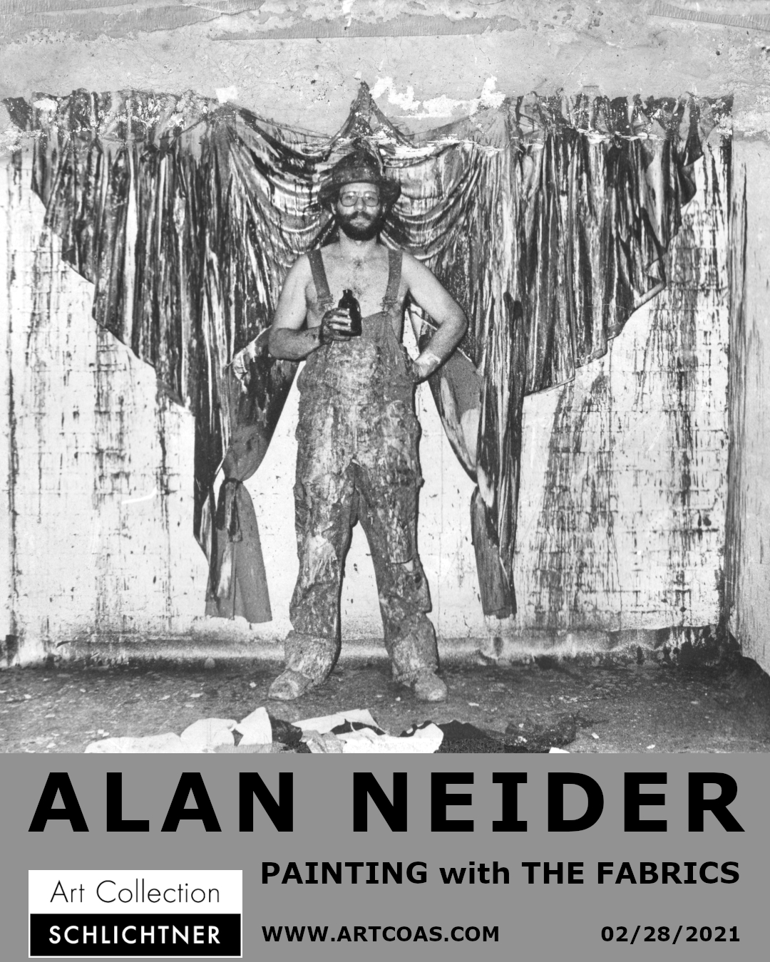 ALAN NEIDER - PAINTING with THE FABRICS - online solo exhibition - 02/28/2021