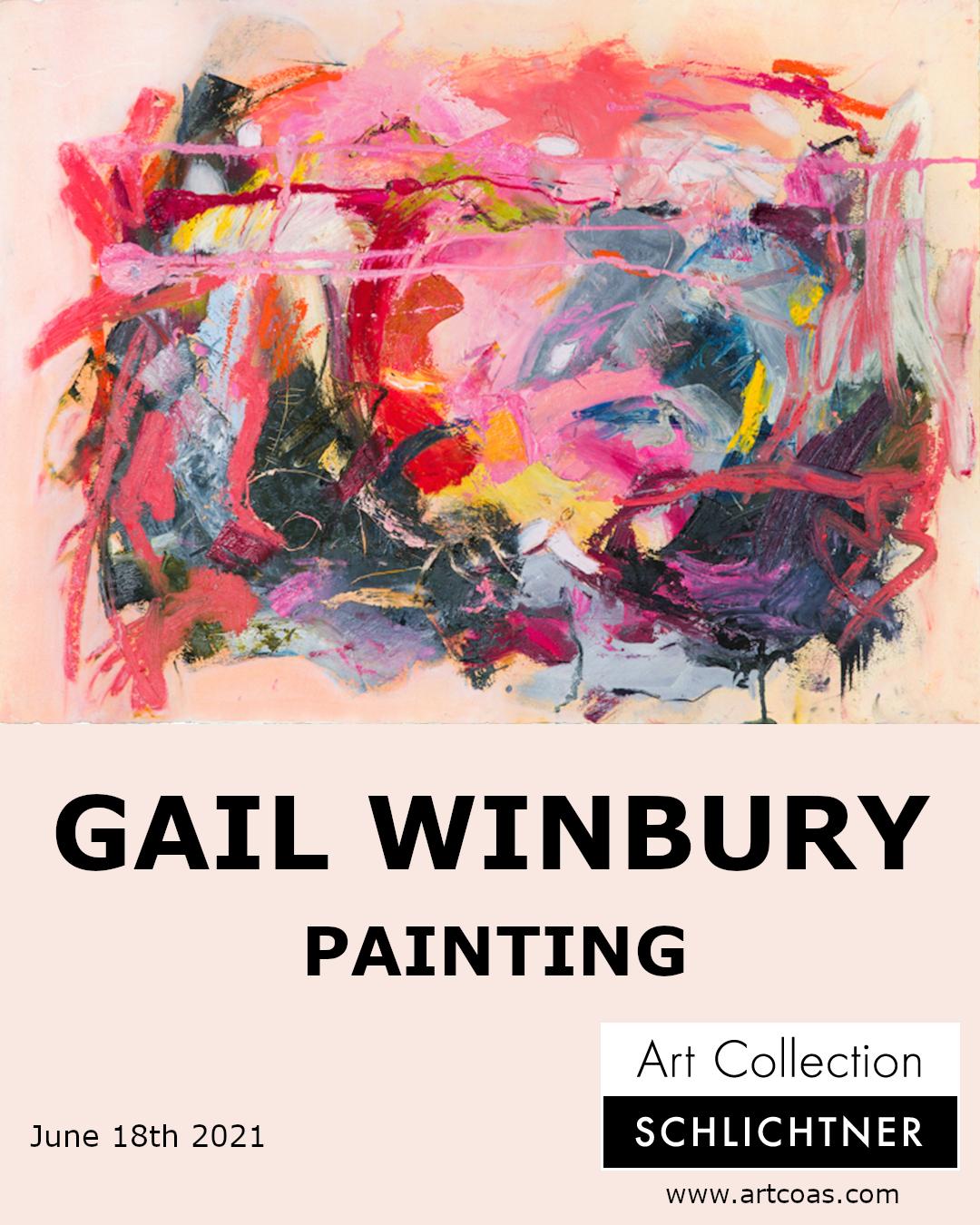 GAIL WINBURY - PAINTING - online solo exhibition - June 18, 2021